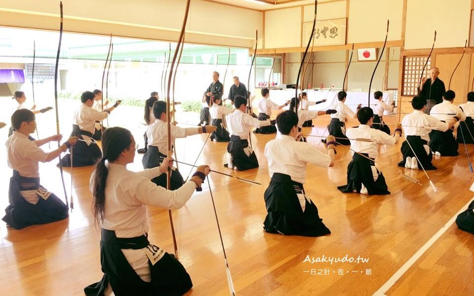 弓道的四個基本姿勢