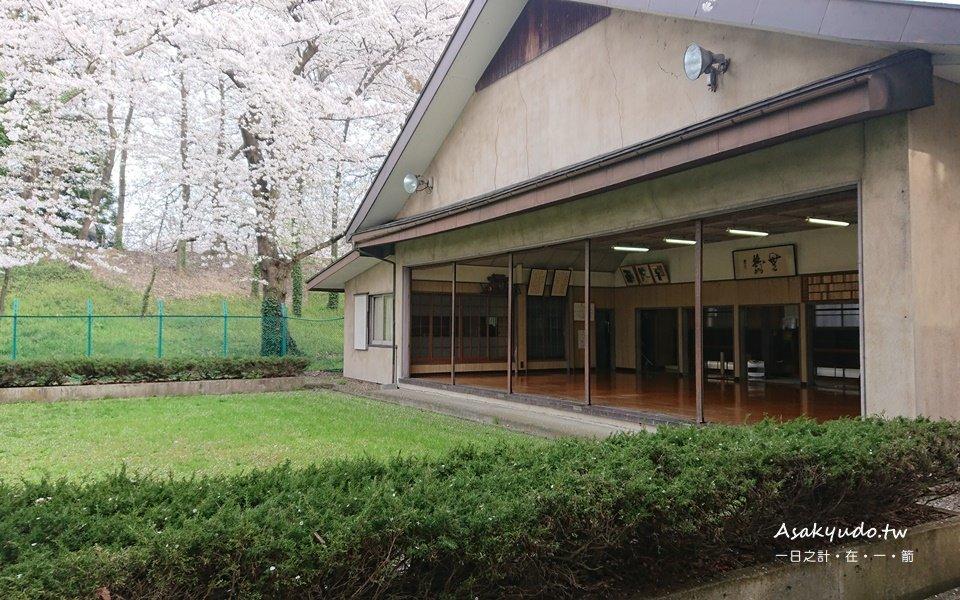 霞城公園弓道場