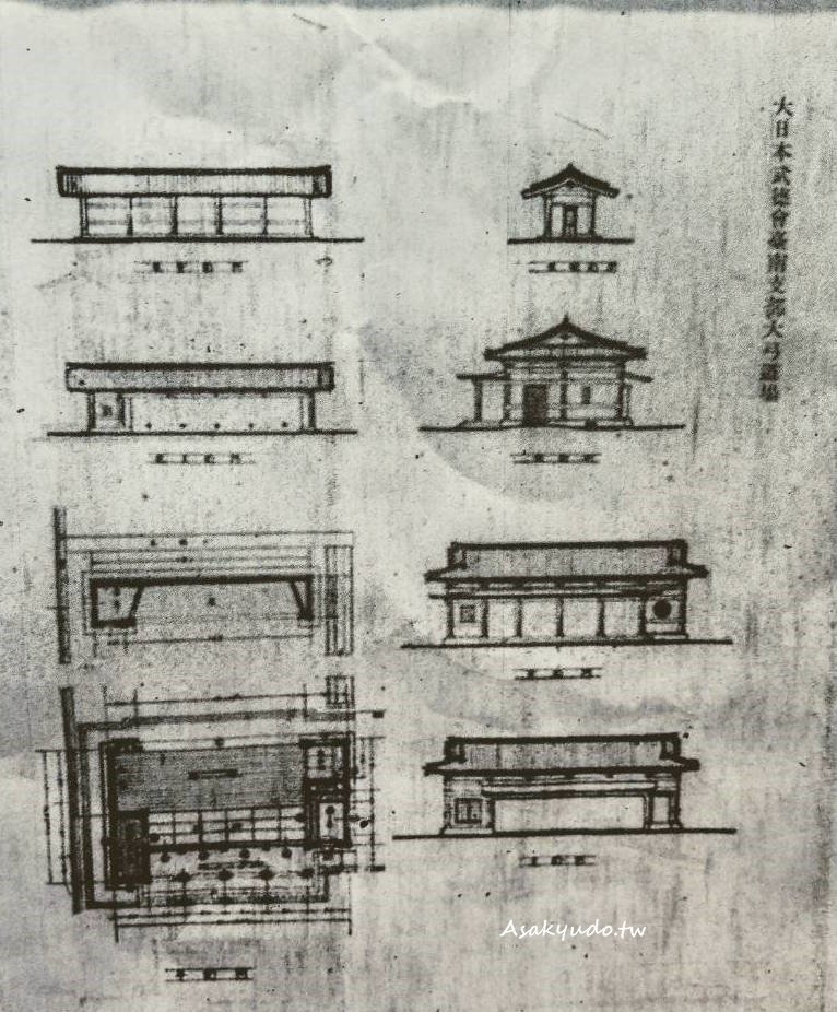 台南武德殿大弓場